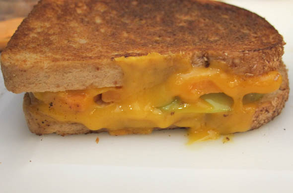 The Three Bite Rule - Fall Grilled Cheese