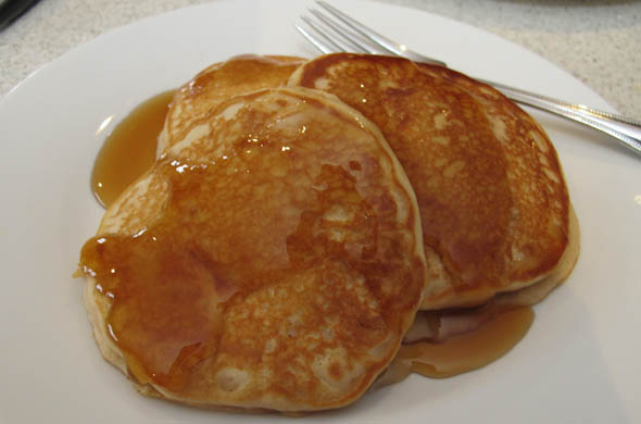 The Three Bite Rule - Apple Cider Pancakes