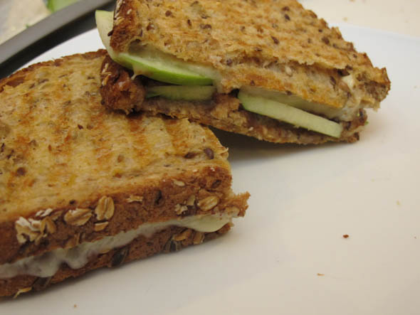 The Three Bite Rule - Apple Butter Panini