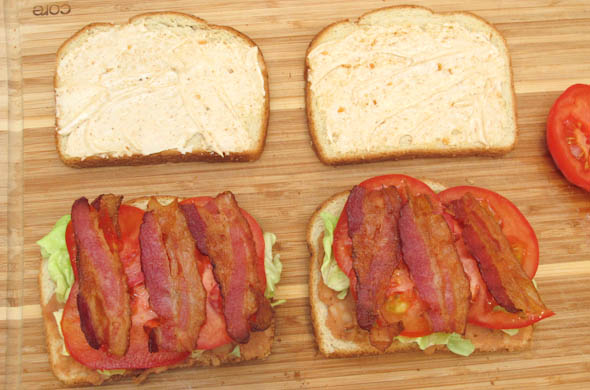 The Three Bite Rule - Mexican BLTs