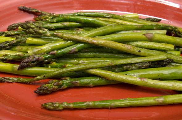 The Three Bite Rule - Caesar Asparagus