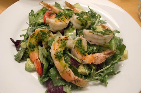 The Three Bite Rule - Grilled Shrimp w/ Chimichurri Sauce