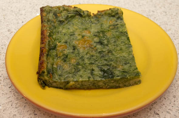 The Three Bite Rule - Spinach Squares