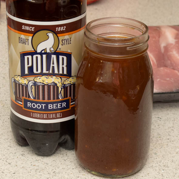 The Three Bite Rule - Root Beer BBQ Sauce
