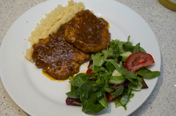 The Three Bite Rule - Sundried Tomato Sauce for Pork