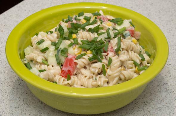The Three Bite Rule - Margarita Pasta Salad