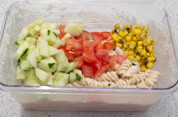 The Three Bite Rule - Margarita Pasta Salad