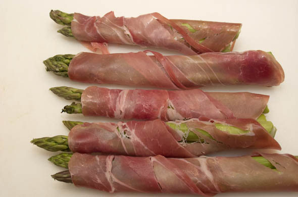 The Three Bite Rule - Asparagus & Prosciutto