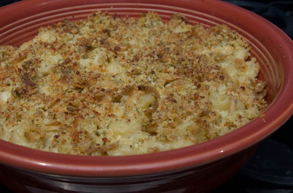 The Three Bite Rule - Garlic Parmesan Mac & Cheese