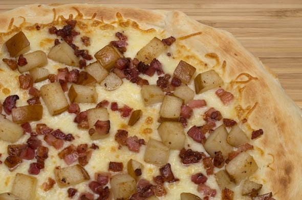 The Three Bite Rule - Pear & Pancetta Pizza