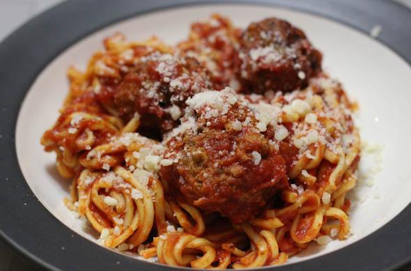 The Three Bite Rule - Crockpot Meatballs