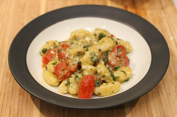 The Three Bite Rule - Tomato & Basil Gnocchi