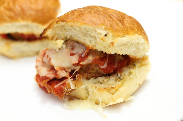 The Three Bite Rule - Meatball Sliders