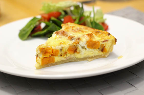 The Three Bite Rule - Sweet Potato Quiche