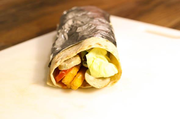 The Three Bite Rule - Gyro Wrap