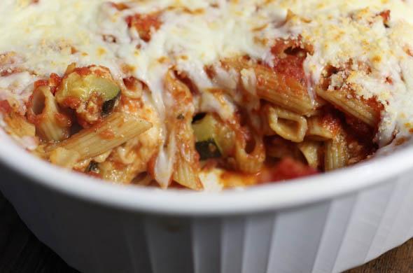 The Three Bite Rule - Veggie Baked Pasta