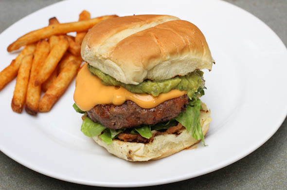 The Three Bite Rule - Ultimate Mexican Burger