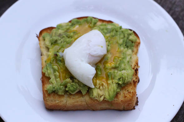 The Three Bite Rule - Avocado Everything Toast