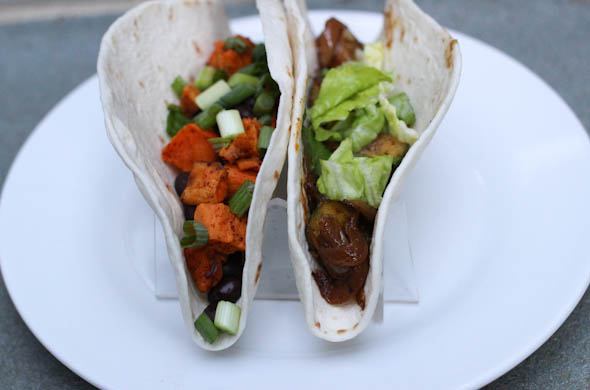 The Three Bite Rule - Meatless Taco Options