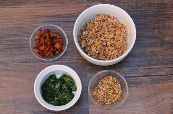 The Three Bite Rule - Farro Breakfast Bowl