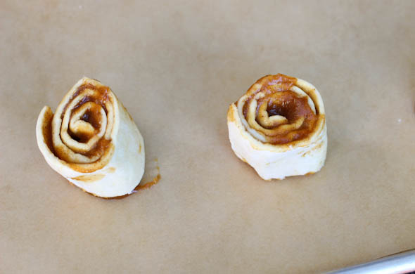 The Three Bite Rule - Pumpkin Cinnamon Rolls