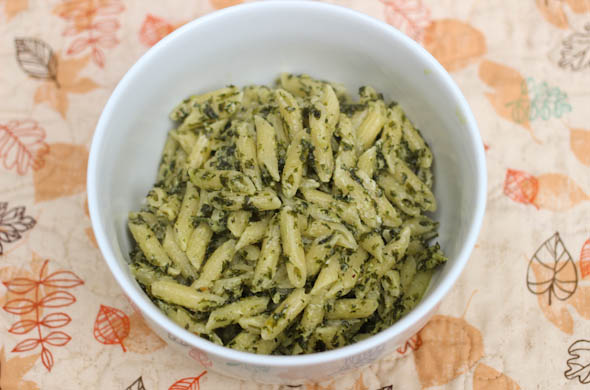 The Three Bite Rule - Kale Pesto