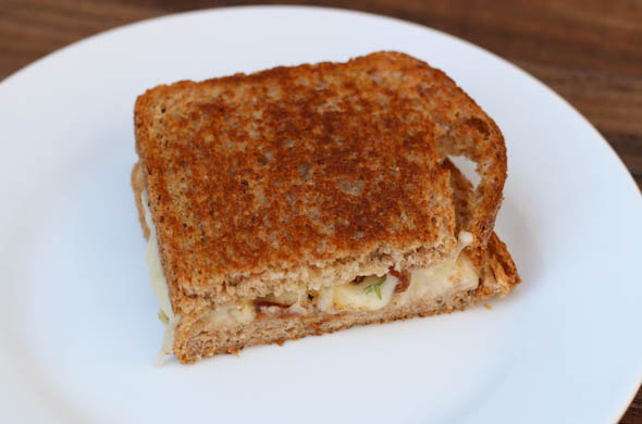 The Three Bite Rule - Lorraine Grilled Cheese