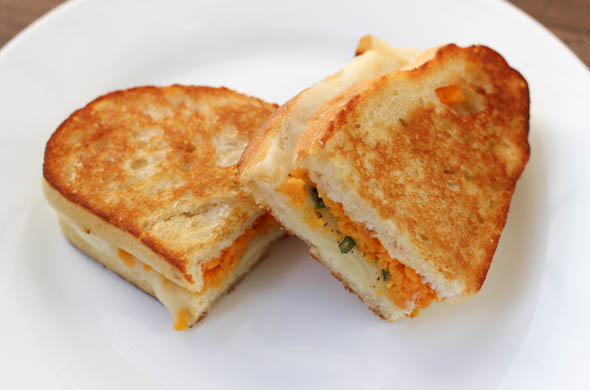 The Three Bite Rule - Sweet Potato Grilled Cheese