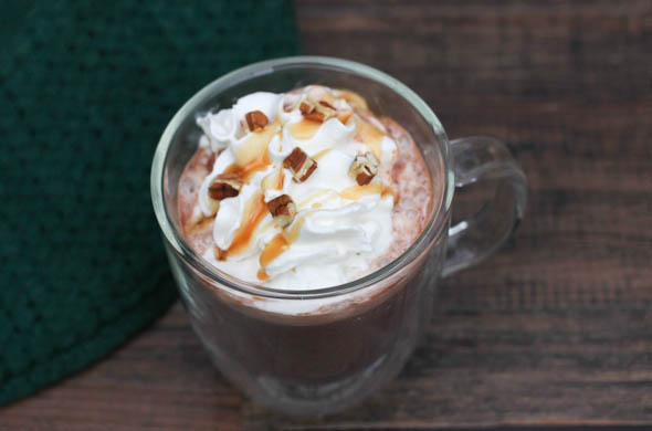 The Three Bite Rule - Turtle Hot Chocolate