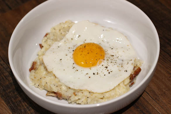 The Three Bite Rule - Bfast Risotto