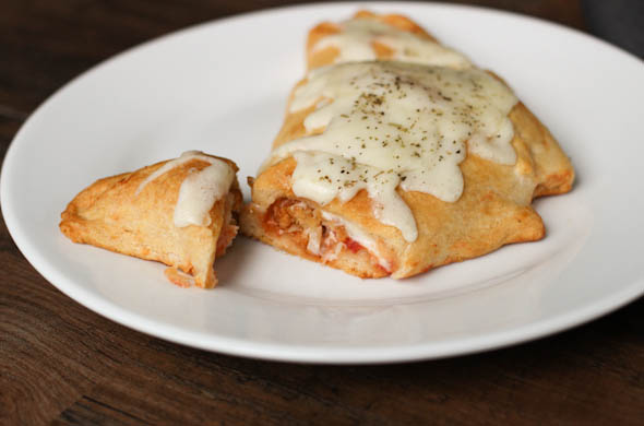 Chicken Parmesan Turnover - The Three Bite Rule