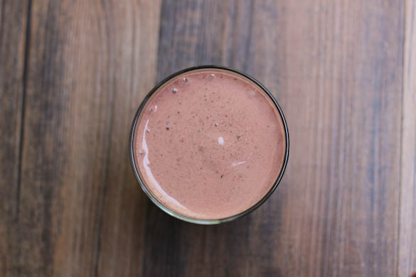 The Three Bite Rule - Chocolate Cherry Smoothie
