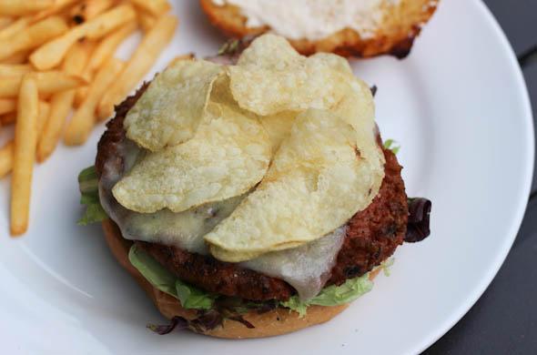 The Three Bite Rule - Garlic Lovers Burger