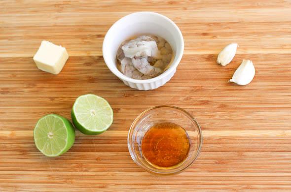 The Three Bite Rule - Honey Garlic Lime Shrimp