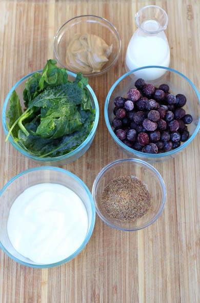The Three Bite Rule - PB & J Smoothie Healthified