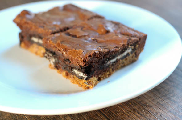 The Three Bite Rule - Everything Cookie Brownie Bars