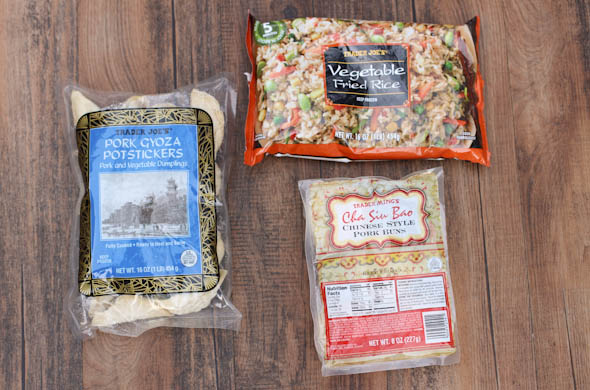 The Three Bite Rule - Trader Joe's Favs into Meals