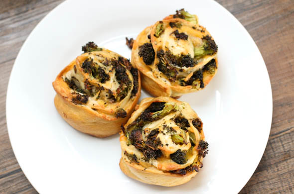 The Three Bite Rule - Broccoli & Cheddar Pinwheels