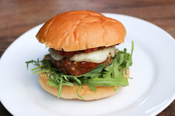 The Three Bite Rule - Manchego Burger