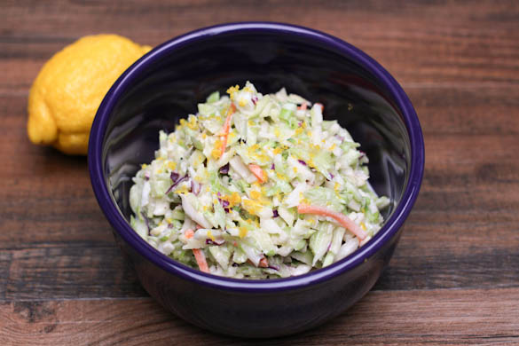 The Three Bite Rule - Lemonade Slaw