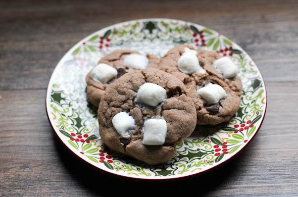The Three Bite Rule - Hot Chocolate Cookies
