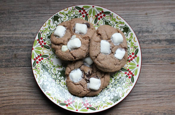 The Three Bite Rule - Hot Chocolate Cookies