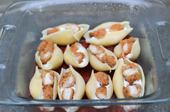 The Three Bite Rule - Chicken Parm Stuffed Shells