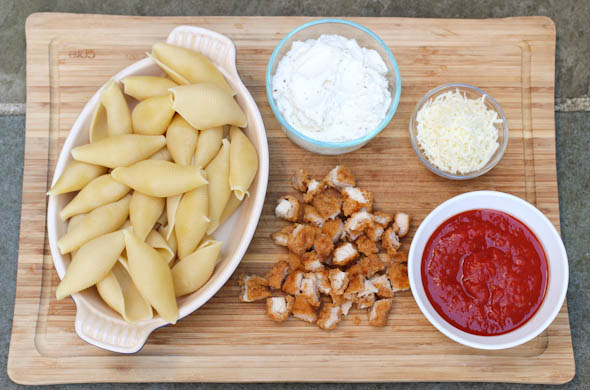 The Three Bite Rule - Chicken Parm Stuffed Shells