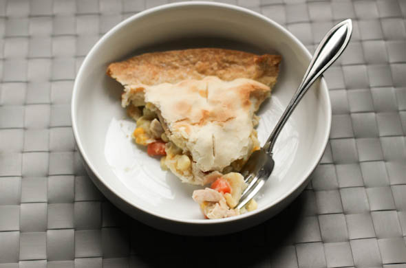 The Three Bite Rule - Chicken Pot Pie