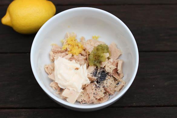 The Three Bite Rule - Lemon Poppyseed Tuna
