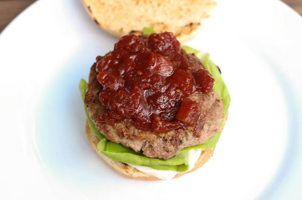 The Three Bite Rule - BLT Burger w/ Tomato Jam