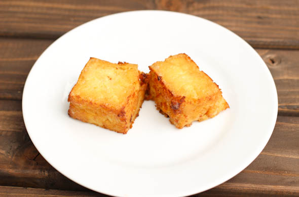 The Three Bite Rule - Corn Bread with Hot Honey
