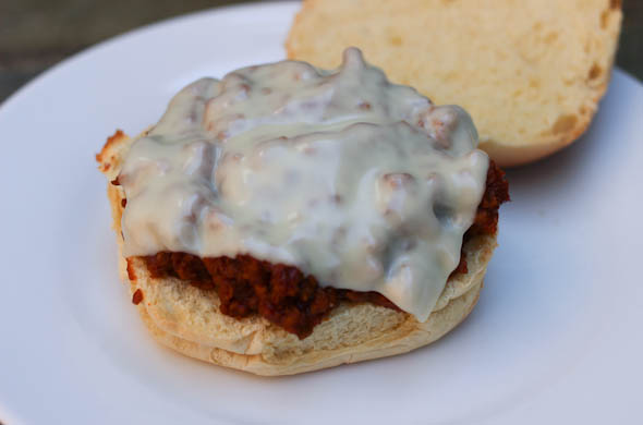 The Three Bite Rule - Cheeseburger Sloppy Joe