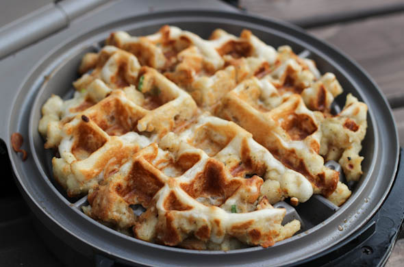 The Three Bite Rule - Stuffing Waffles